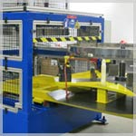 Specific shrink fit machine by Lormac