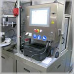 Hydraulic flow rate / pressure test bench