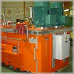Hydraulic power generation unit