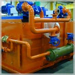 Hydraulic lubrication unit